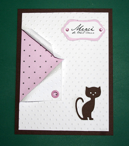 """Deux cartes """"chat"""""""
