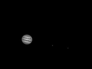 Jupiter et sa grande tâche rouge