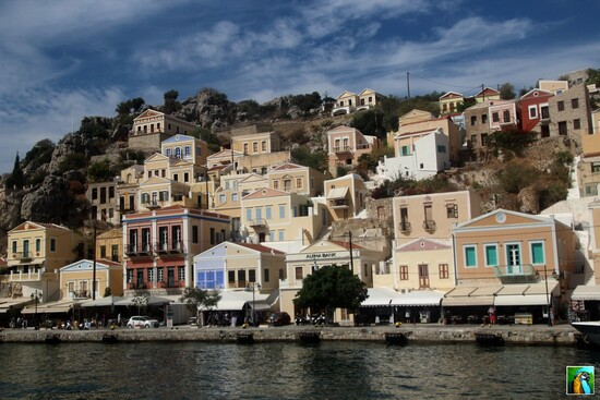 Rhodes : Octobre 2018 : Visite de Symi