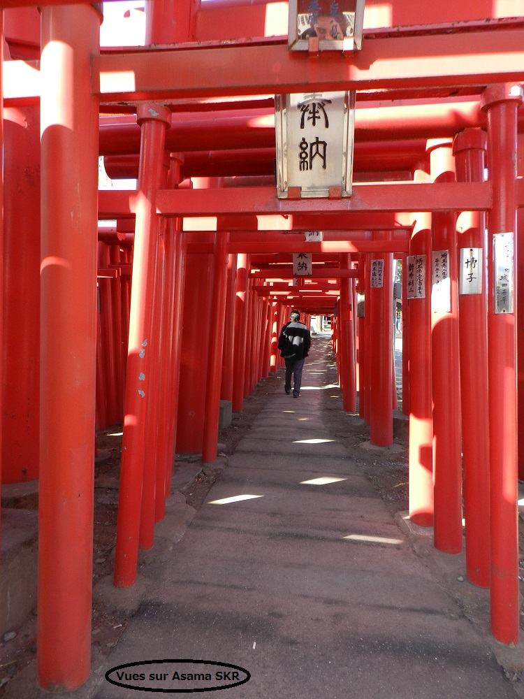Koizumi inari (2).  Shrine at Koizumi (2)