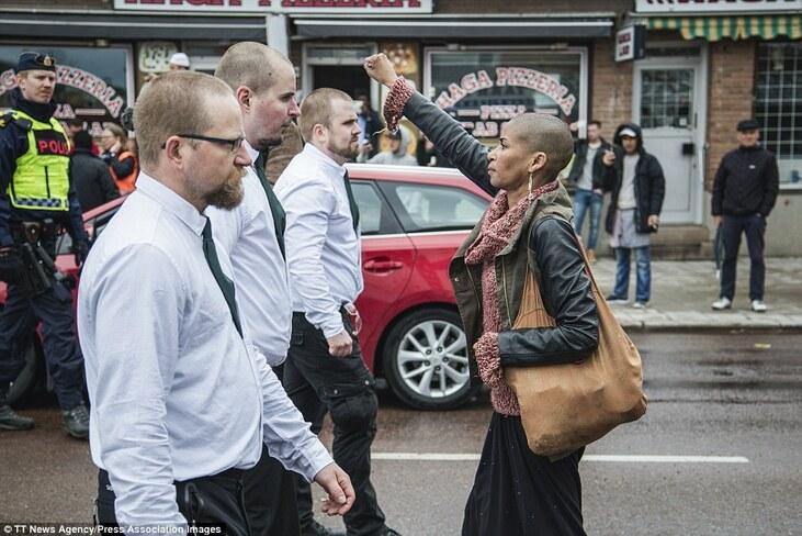la photo de cette femme est devenue virale