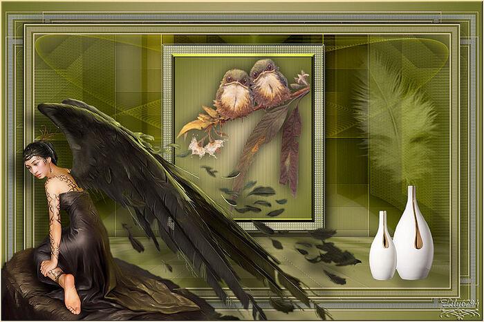 Coeur de plume