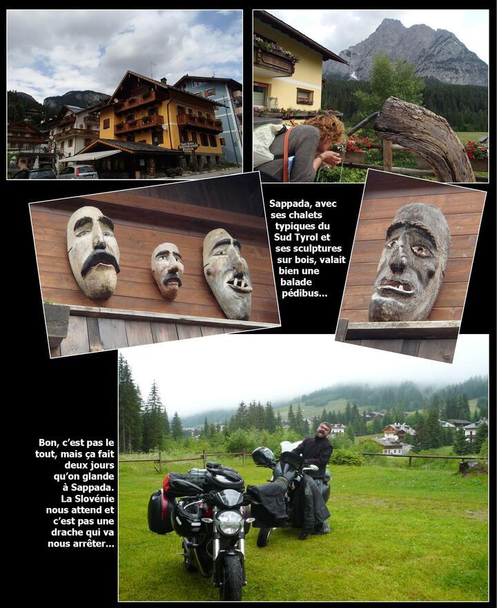 - Eté 2013 : la Slovénie à moto ? What else…