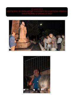 """Le monument pacifiste """"Victorin Maurel"""" à Château-Arnoux"""