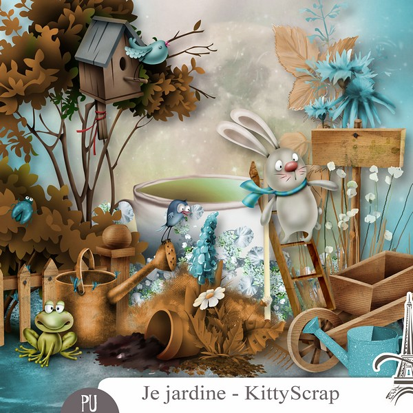 JE JARDINE by Kitty Scrap