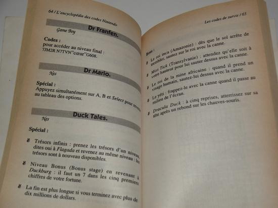 h guide Nintendo encyclopédie des codes secrets 02