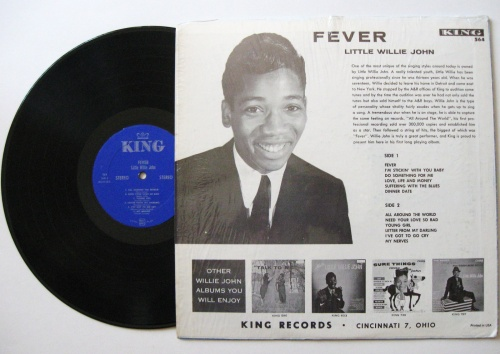 "Little Willie John : Album "" Fever "" King Records K 564 [ US ]"