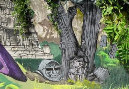 Capestang ruiseau tags ruines