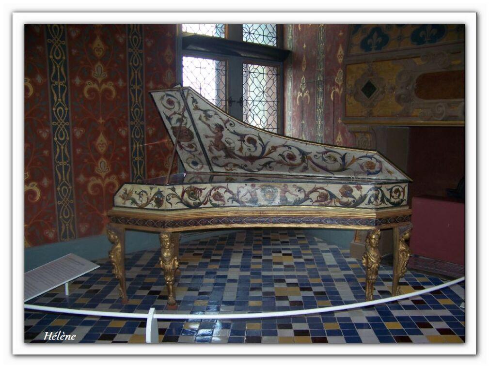 """20 septembre 2013                  """" intérieur du château de  Blois"""""""