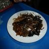 assiette d'insectes