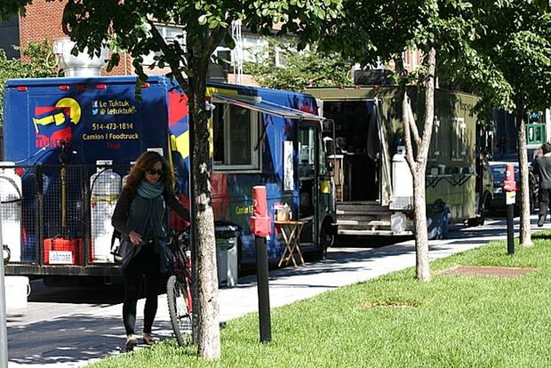 Les food trucks montréalais