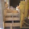 réalisation des coffrages pour l\'escalier béton 010