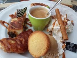 Café gourmand très breton