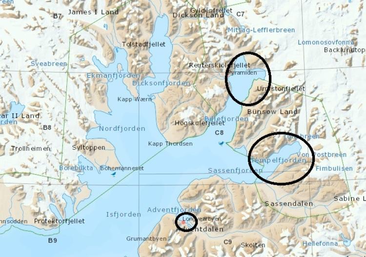 De la glace dans les fjords ???