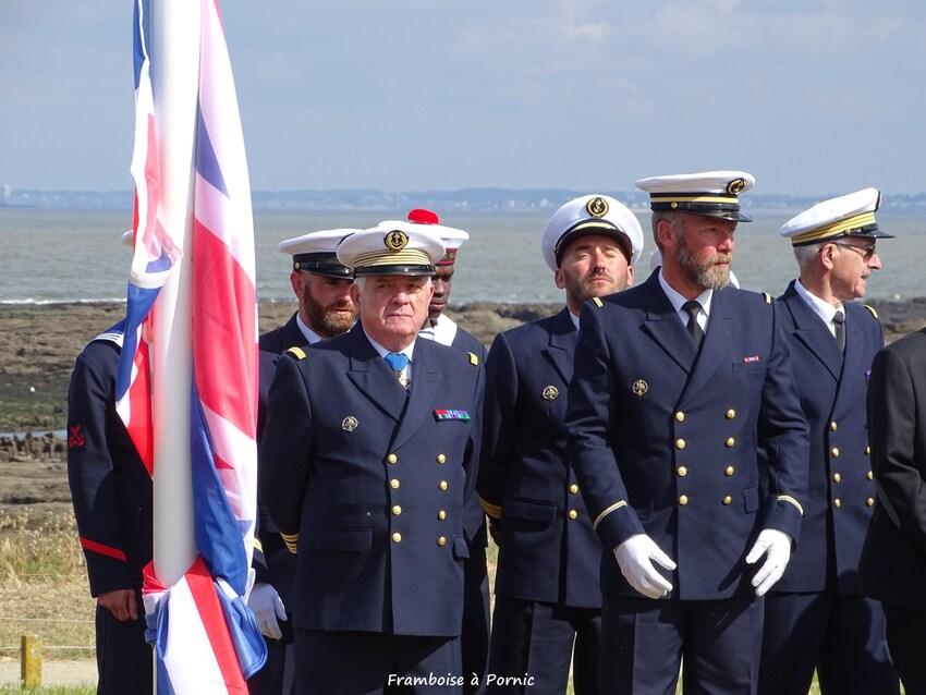 Inauguration Mémorial LANCASTRIA - 18 juin 2016 - Délégation anglaise