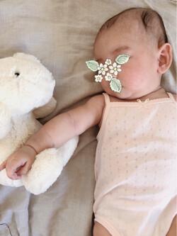Ma fille et son lapin