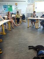 """Témoignage dans une classe ULIS2B à l'école """"Nelson Mandela"""" à Angers le 16/06/2017"""