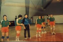 MCA Handball Filles en Égypte 1989