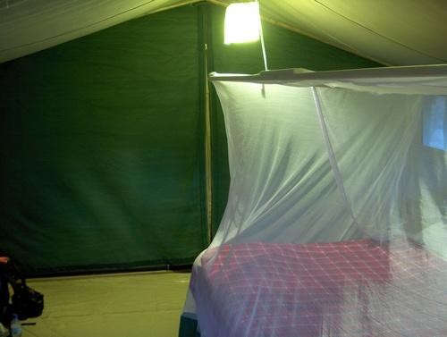 Notre chambre à l'Ikoma Bush Camp