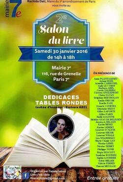 2ème salon du livre organisé par l'association Lire c'est Libre le 30 janvier 2016.