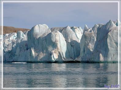 Encore des vues du glacier Croker Bay - Devon Island - Nunavut - Canada