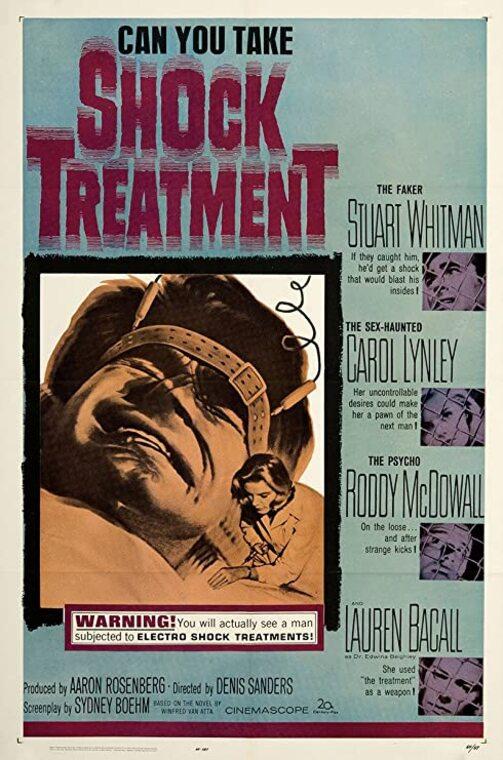 SHOCK TREATMENT BOX OFFICE USA 1964