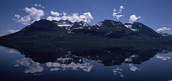 La montagne Akka en Laponie suédoise