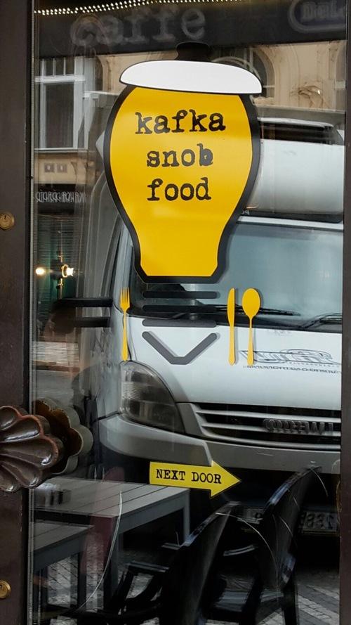 Restaurant snob