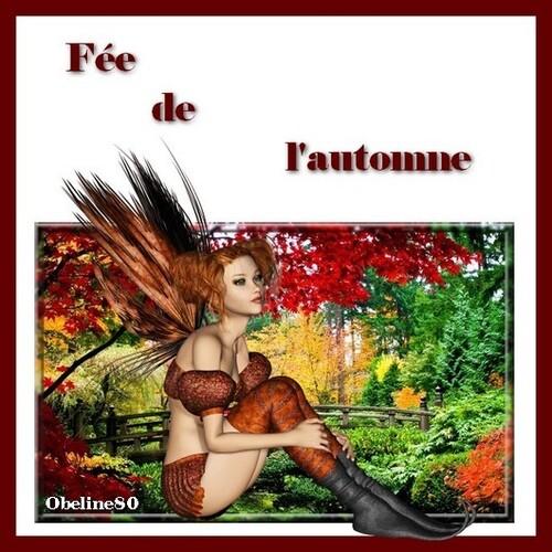 """Défi """"La fée d'automne"""""""