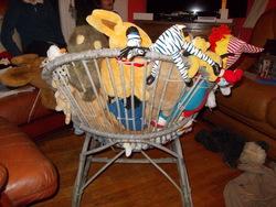 le fauteuil nounours
