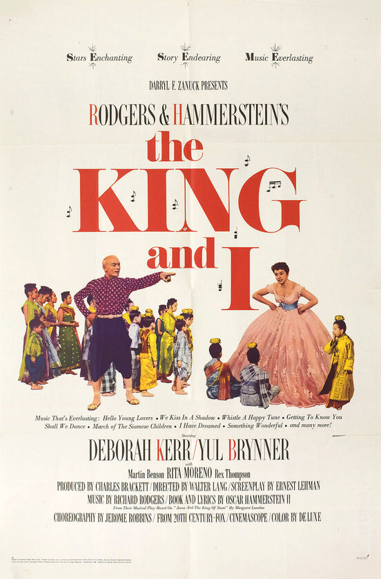 THE KING AND I REISSUE BOX OFFICE USA 1966