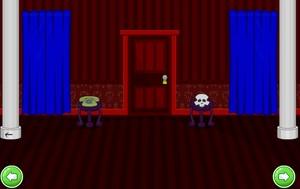 Jouer à Escape haunted library