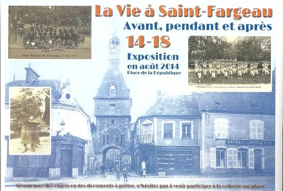 affiche de l' EXPOSITION