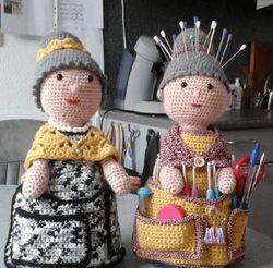 Dame crochet.