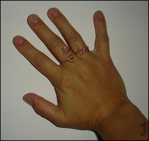 Amoureuse jusqu'au bout des doigts...