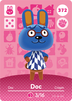 Pin on Animal Crossing Amiibo Cards