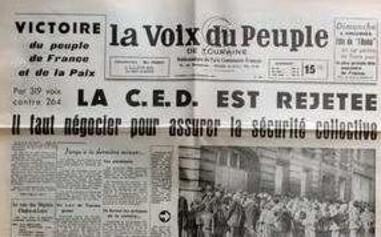 De Gaulle et le projet CED
