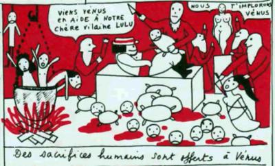 """ARTE nous parle de """"La Vilaine Lulu"""" d'Yves Saint Laurent..."""