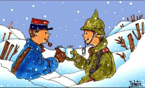 Un fait de la guerre, Noël 1917