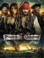Pirates des Caraïbes La Fontaine de jouvence affiche