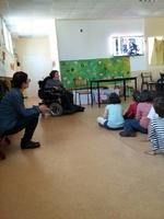 témoignage à l'école St Claire le Lion d'Angers 30/03/2017
