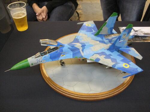 A l'expo de Niort : avions et science fiction