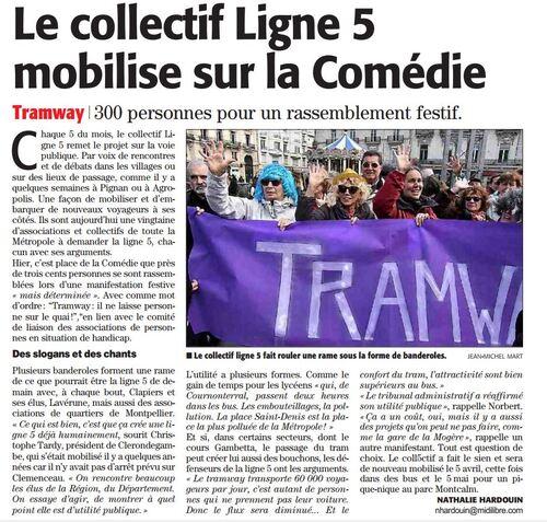 place de la Comédie 5 mars 2016