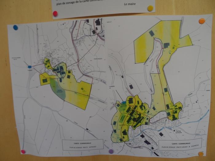Carte communale :projet