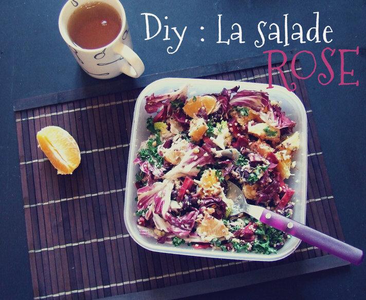 La salade Rose pour la Saint Valentin [Vegan]