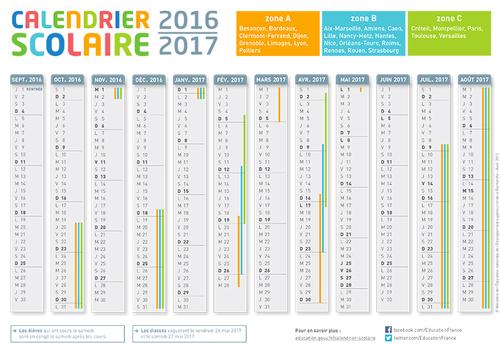 Agenda scolaire 2016-2017