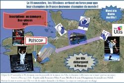Les inscriptions pour Plescop sont ouvertes !!