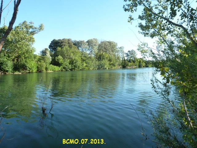 un petit tour au bord de l'Hérault ....