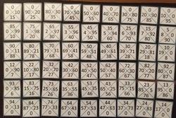 Jeu mathématiques : le quatromino