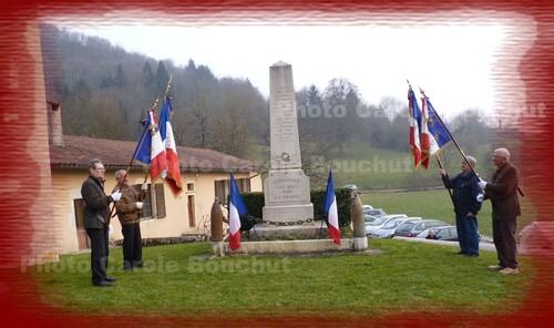 Les membres de la FNACA en visite à Germagnat le 19 mars 2015
